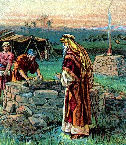 Bible Story of Isaac to Gerar