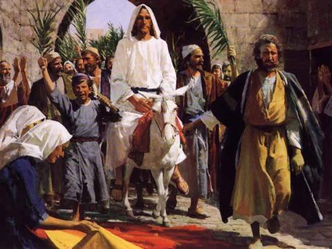 Palm Sunday Bible Story