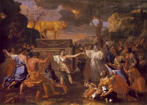 Aaron's Golden Calf Story