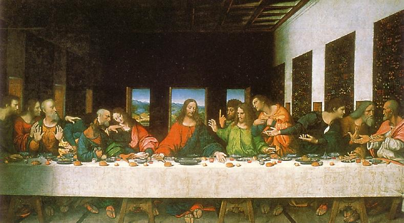 Last Supper Bible