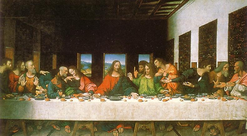 Last Supper Bible